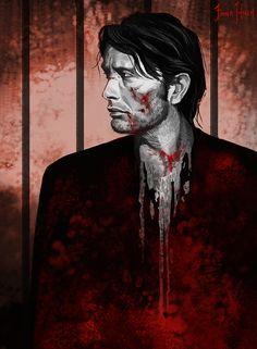 Drew Hannibal… beat-up.