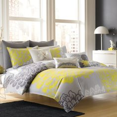 Dream by Blissliving® Home Modern Botanical Duvet Cover, 100% Cotton - Bed Bath & Beyond