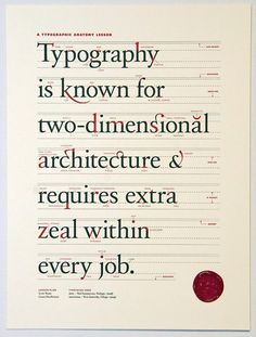Typography. Very cool way to describe it.