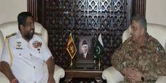 Commander #SriLanka #Navy meets #COAS
