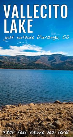 Discover vacation homes, restaurants, and things to do on your vacation to Vallecito Lake - just 18 miles from Durango, Colorado. Colorado Lakes, Colorado Cabins, Durango Colorado, Colorado Hiking, Colorado Mountains, Lake Camping, West Road, River Lodge, Mountain High