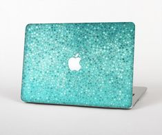 The Turquoise Mosaic Tiled Skin for the Apple MacBook Air - Pro or Pro with Retina Display (Choose Version)