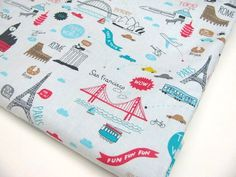 Baby blankie-will be inspiring my kids to travel from the start!