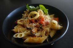 Pasta Marinara Pasta Marinara, Ethnic Recipes, Kitchen, Food, Cooking, Meal, Essen, Home Kitchens, Hoods