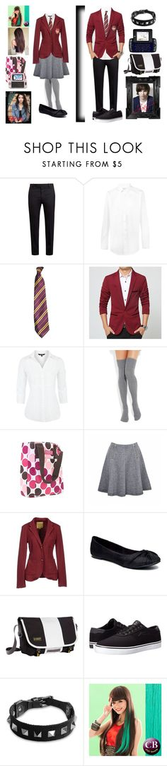 """""""Olivia and Jake hale Chapter 1"""" by hope2002 ❤ liked on Polyvore featuring Marni, Yves Saint Laurent, Maine New England, Falke, JanSport, Ally Fashion, Juicy Couture, Silvian Heach, Rocket Dog and Timbuk2"""