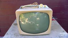 1958 Motorola Television Analysis For Repair With Sets Owner