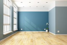 17 trendy styles for hardwood floors. The definitive guide to hottest and most stylish wood flooring trends for Stain color preferences and finishes. Living Room Photos, Living Room Decor, Vancouver House, Wall Design, House Design, Empty Room, Big Windows, Room Paint, Room Colors