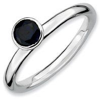 0.75ct Stackable High 5mm Round Sapphire Ring Band. Sizes 5-10 Available Jewelry Pot. $23.99. All Genuine Diamonds, Gemstones, Materials, and Precious Metals. Fabulous Promotions and Discounts!. Your item will be shipped the same or next weekday!. 30 Day Money Back Guarantee. 100% Satisfaction Guarantee. Questions? Call 866-923-4446. Save 63% Off!