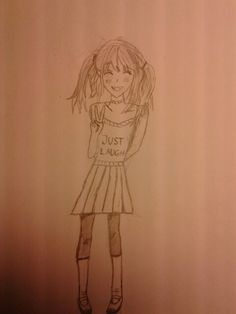 Manga/girl/laughing/skirt/funny/cute