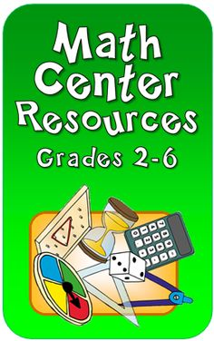 Math Centers Resources and tips in Laura Candler's online file cabinet http://www.lauracandler.com/strategies/mathcenters.php