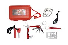 Survival Kit SOS Tool Pack for Camping Hiking Hunting Biking Climbing Traveling Multifunction *** Click on the image for additional details.