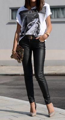 30 ideas de outfits inspirados en un estilo rockero | Belleza