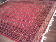 My grandparents had an enormous kilim rug that looked a lot like this.