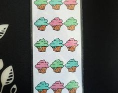 Sweet Cupcake Bookmark By DobbysStudio on Etsy!