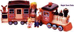 Maple Town Train 1988