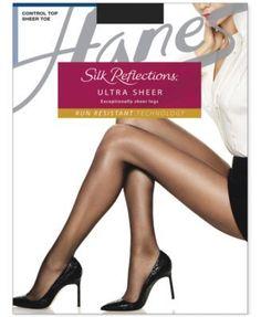Hanes Silk Reflections Control Top Lasting Sheer Ultra Sheer 0B260 - Tan/Beige IJ