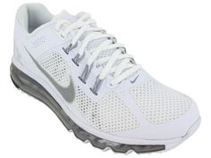 Nike Men's NIKE AIR MAX+ 2013 RUNNING SHOES 9 Men US (WHITE/REFLECT SILVER/WOLF GREY) Nike,http://www.amazon.com/dp/B008D58TE8/ref=cm_sw_r_pi_dp_qk3Crb13EED84086