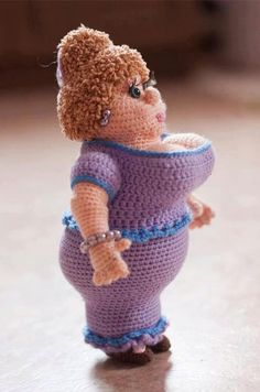 Crochet done awesome …LOL.