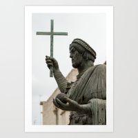 Italian sculpture Art Print