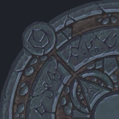 Laurence Gardiner : A floor centre piece/accent for a work in progress scene. Game Textures, Textures Patterns, Game Art, Hand Painted Textures, 3d Texture, Texture Painting, Digital Texture, Game Design, Concept Art