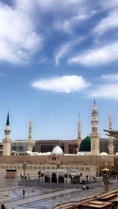 Masjid Haram, Al Masjid An Nabawi, Beautiful Mosques, Beautiful Places, Timor Oriental, Maldives, Laos, Pilgrimage To Mecca, Mecca Islam