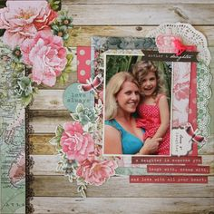 All About Scrapbooks -  Kaisercraft Oh So Lovely by Fiona Johnstone