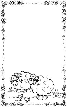 Borders For Paper, Borders And Frames, Bible Coloring Pages, Coloring Books, Photo Frames For Kids, Notebook Cover Design, School Frame, Page Borders, Maker