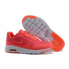 Women Nike Air Max 1 Ultra Moire CH Shoes Peachblossom White
