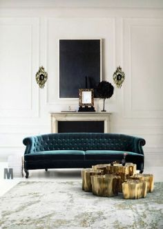 image via www.bocadolobo.com #teal #47parkavenue #interiordesign