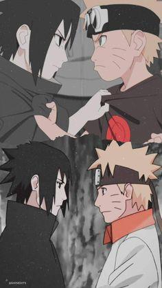 Naruto Vs Sasuke, Naruto And Sasuke Wallpaper, Wallpapers Naruto, Naruto Fan Art, Wallpaper Naruto Shippuden, Naruto Cute, Naruto Funny, Naruto Shippuden Anime, Animes Wallpapers