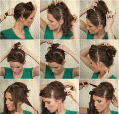 freckled_fox_hair_tutorial_the_bouffant_bun_summer_winter_fall_spring_long_hair_tutorial_1