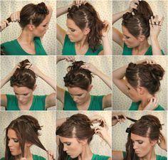 freckled_fox_hair_tutorial_the_bouffant_bun_summer_winter_fall_spring_long_hair_tutorial_1