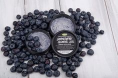 Catastrophe Cosmetic - great for sensitive skin, with calamine and loads of fresh blueberries.