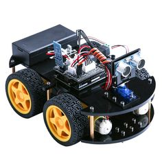 Elegoo Coche Robótico Inteligente Arduino Versión 2 con Tutorial en español