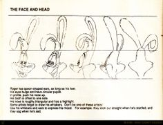 Living Lines Library: Who Framed Roger Rabbit (1988) - Character Design: face and head