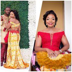 African Fashion Ankara, African Print Fashion, African Wear, African Attire, African Traditional Wedding Dress, Traditional Weddings, Kente Dress, African Wedding Attire, African Prom Dresses