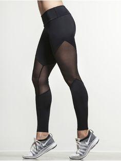Mesh Track Legging   beautyluxelife
