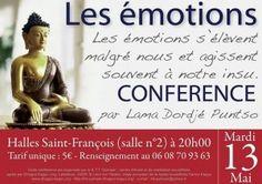 KTT : Conférence sur les émotions. Le mardi 13 mai 2014 à quimper.  20H00
