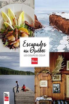 Escapades au Québec : Les coups de coeur de La Presse présente le Québec comme une destination de calibre mondial, dynamique, bien loin des clichés touristiques. On n'y retrouve que de bonnes adresses, celles qu'on se passe entre amis, quand on connaît bien un endroit et qu'on l'apprécie. On y découvre des plages aussi belles que celles du Sud, des restos cachés en campagne, des destinations familiales, plein air ou grand luxe, des escapades à faire à Québec et à Montréal, les villages à ne…