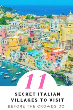 Already done Rome, Florence, and Venice? Discover the soul of Italy in these secret Italian villages that haven't yet been discovered by crowds. Vacation Destinations, Vacation Spots, Vacations, Places To Travel, Places To See, Travel Stuff, Italian Village, Sun Soaked, Travel Goals