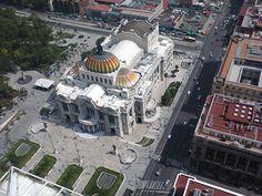 """""""Palacio de Bellas Artes desde el mirador de la Torre Latinoamericana"""", foto 3"""