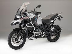 BMW R 1200 GS Adventure, Light white non-metallic