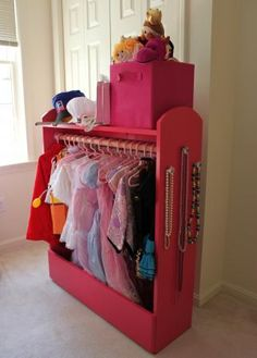 Dress Up Storage & Puppet Theater | Do It Yourself Home Projects from Ana White