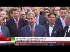EU is failing, EU is dying   Nigel Farage speech following Brexit vote