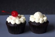 root beer float cupcakes (dessert)