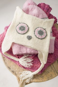 Vauvan pöllö-myssy Novita Pikkusisko | Novita knits
