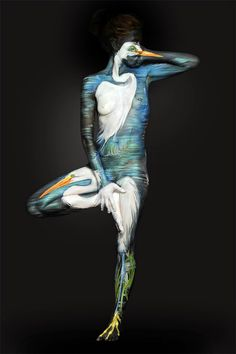 The Amazing Body Art of Shannon Holt ~ Things You Need To Learn