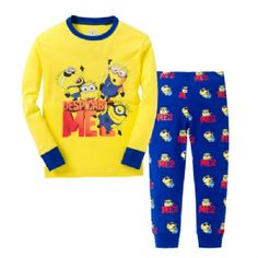 Minions - Despicable Me 2 Sleepwear Pajama Set - Top & Pants