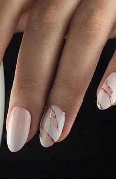 40 pretty manicures for this fall - . - 40 pretty manicures for this fall – # Pretty - Nagellack Design, Nagellack Trends, Cute Nails, Pretty Nails, Hair And Nails, My Nails, Dark Nails, Uñas Fashion, Almond Shape Nails