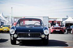 Ferrari 250 GT Lusso. Never mind the others in the background.